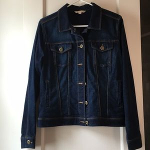 CAbi jean jacket (with some stretch) like new